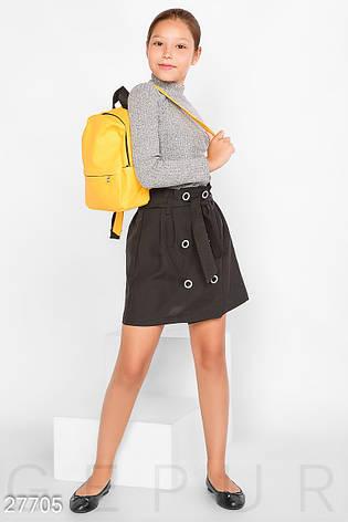 Двубортная школьная юбка, фото 2