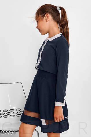 Детская блуза с кружевом, фото 2