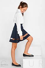 Однотонная школьная юбка, фото 2