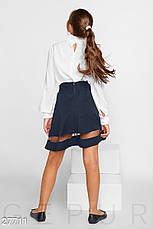Однотонная школьная юбка, фото 3