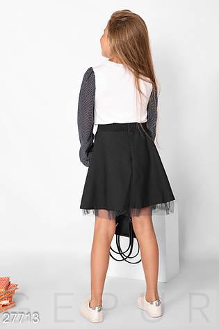 Детская юбка с фатином, фото 2