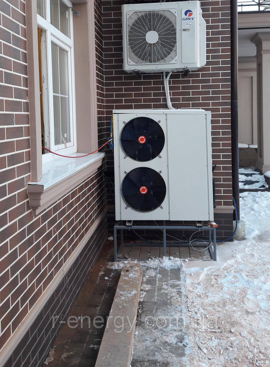 Тепловой насос воздух-вода  KRiCER DAW EVI 2-15