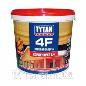 Вогне-біозахист для деревини  TYTAN 4F, 1 кг концентрат 1:4
