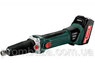 Аккумуляторная прямая шлифмашина Metabo GA 18 LTX