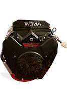 Копия Двигатель бензиновый WEIMA WM2V78F (2 цил., вал шпонка, 20 л.с.), фото 1
