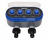 Автоматический таймер полива, подачи воды на 2 линии с шаровыми клапанами, фото 2