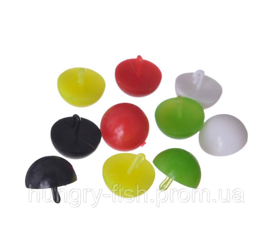 Плаваючі стопора для бойлов Carp Pro Mix Color половинка бойла