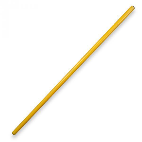 Палка гимнастическая 1.5м (желтая)