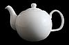Чайник Заварочный Фарфоровый Белый 1000мл