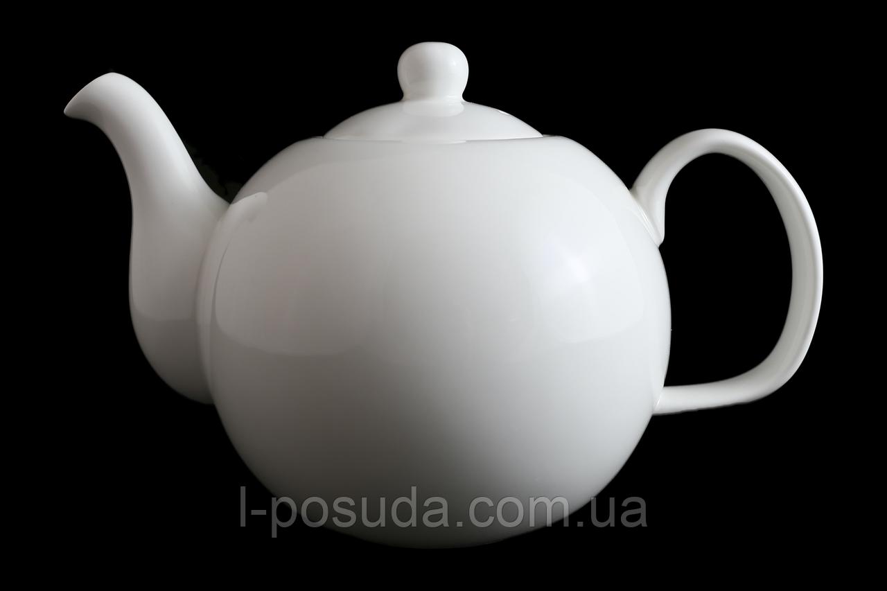 2c2eae81513b Чайник Заварочный Фарфоровый Белый 1000мл - Интернет-магазин посуды