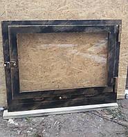 Дверь камина со старением под бронзу, фото 1