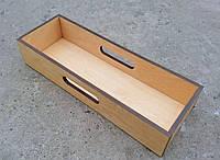 Лоток для столовых приборов, СВЕТЛЫЙ, дерево | Era Creative Wood