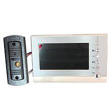 Домофон для наблюдения территории V80P-M1 (Memory Card) видеодомофон с TFT-экраном с диагональю 7