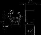 5207444 Универсальный держатель проводников Rd 8 -10,177 20 M8 OBO bettermann, фото 3