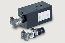Дроссельный обратный клапан типа SD700 / SDRV700 Bieri