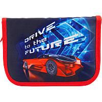 """Пенал 1 отделение 2 отворота """"Drive to the Future""""  K18-622-5"""