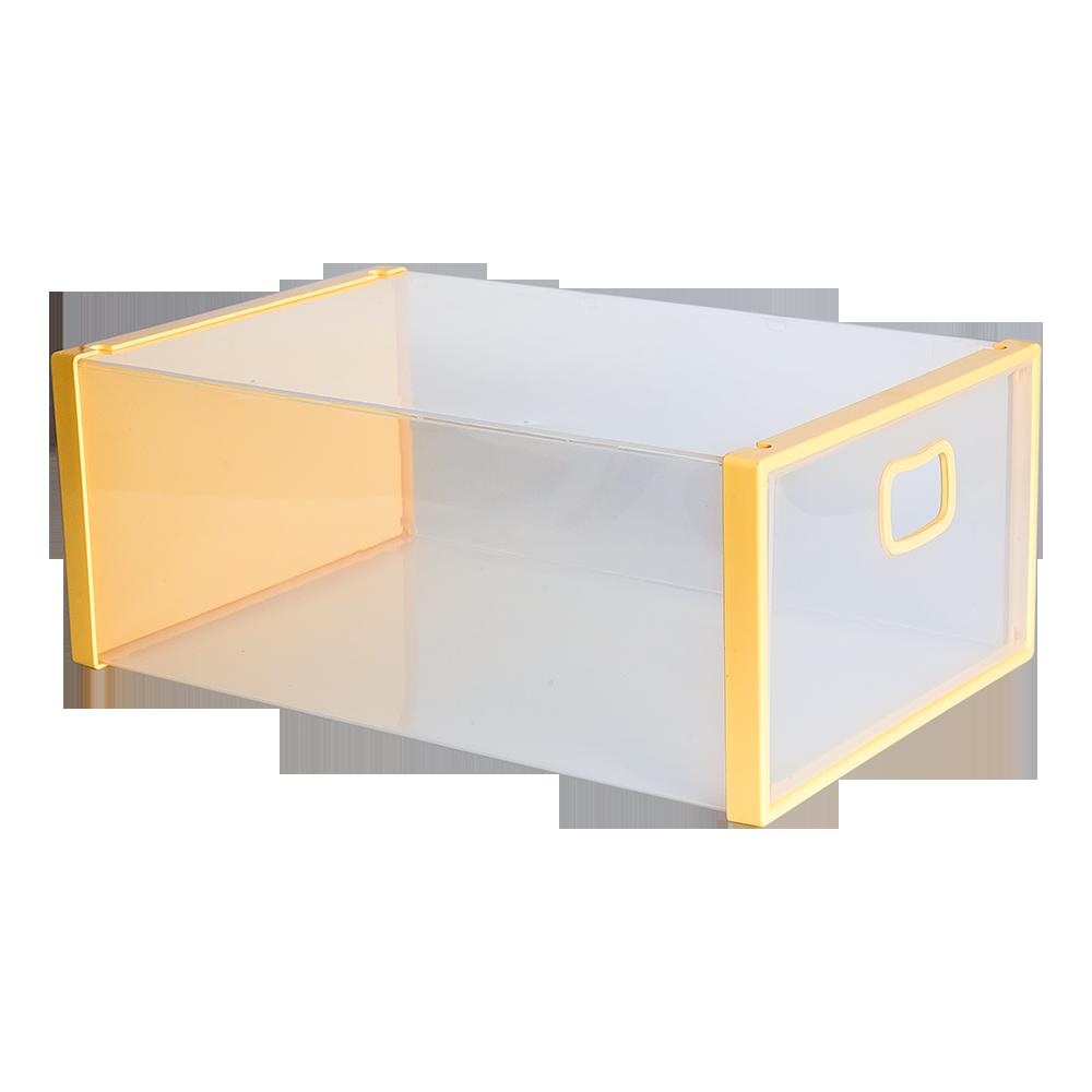 Коробка для обуви желтый