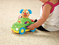 Fisher Price Машина Умного щенка, Laugh and Learn Puppy's Learning Car, фото 1