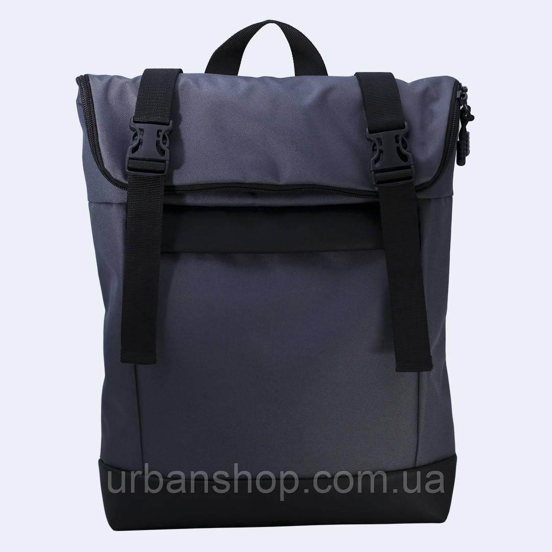 Серый рюкзак Rolltop medium