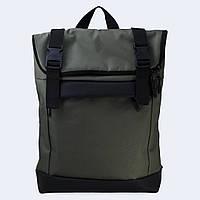 Зеленый рюкзак Rolltop medium, фото 1