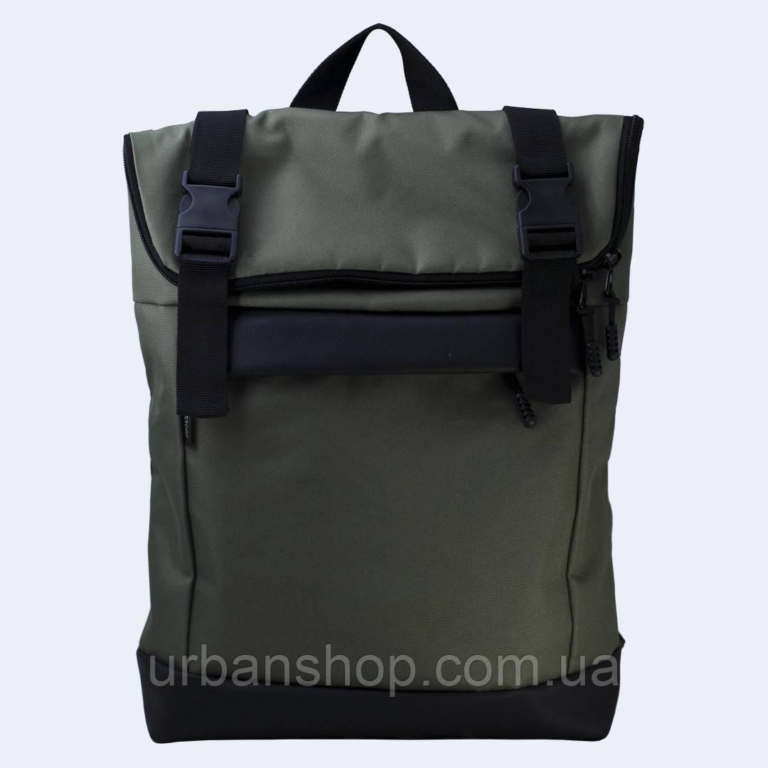 Зеленый рюкзак Rolltop medium