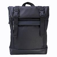 Чорний рюкзак Rolltop Twins Store Medium наплічник.