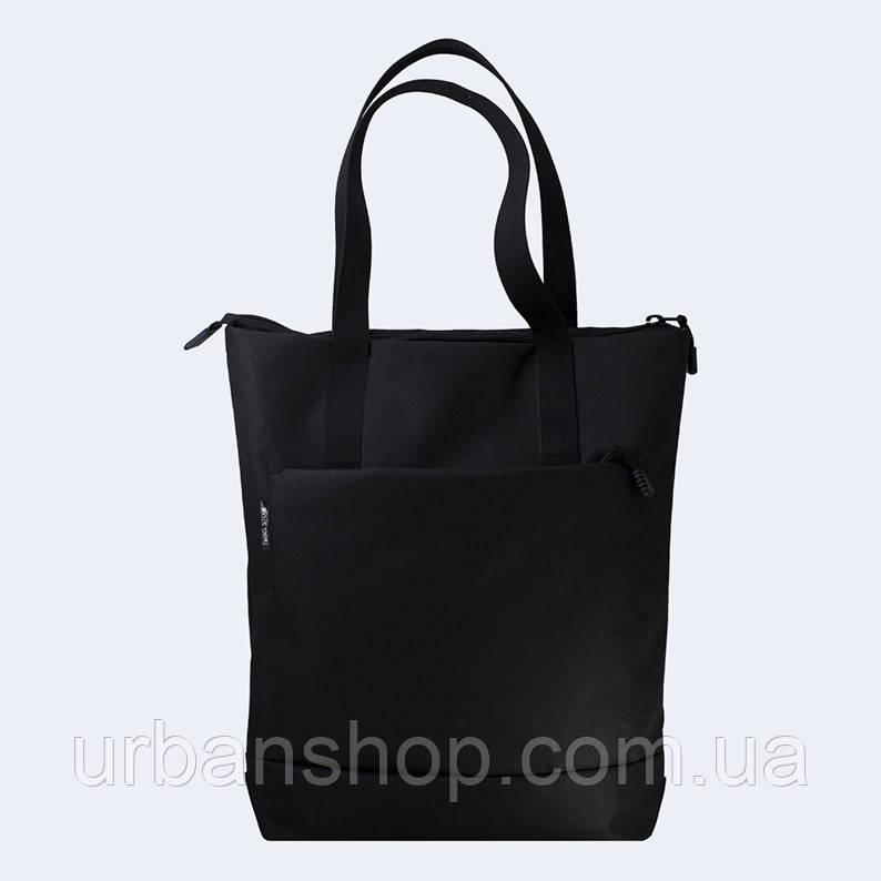 Чорна сумка шоппер