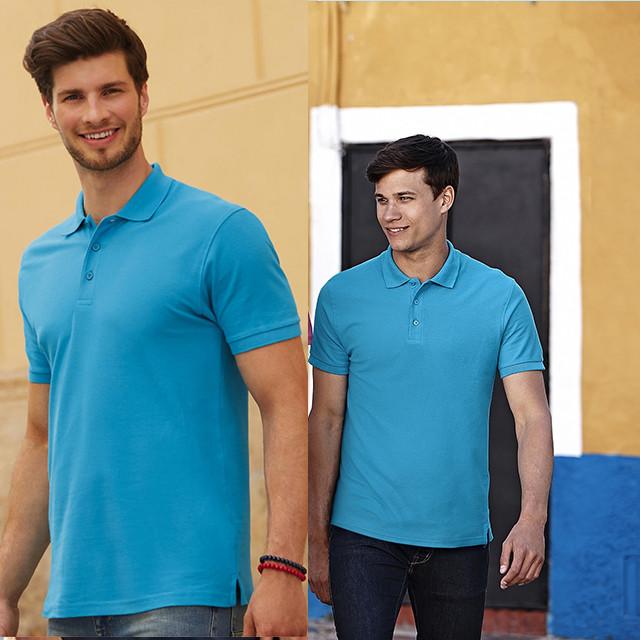 Мужская рубашка поло премиум 63-218-0