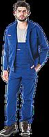 Костюм UM N рабочий синий REIS Польша (комплект рабочий брюки и блуза)