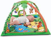 Disney Baby Simbas King-Sized Play Gym, Развивающий коврик Симба., фото 1