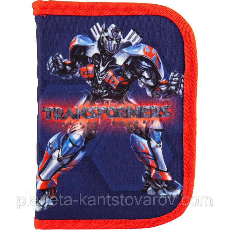 """Пенал 1 відділення 2 одвороту """"Transformers"""" TF18-622-2"""