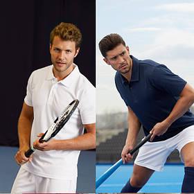 Спортивная тениска поло 63-038-0