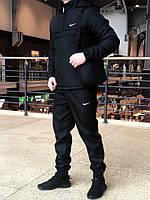 Комплект с черным Анораком Intruder, Штаны President + БАРСЕТКА В ПОДАРОК
