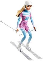 Кукла Барби Подвижная артикуляция 22 точки лыжница / Barbie Skier Doll Pink Passport Made to Move, фото 3