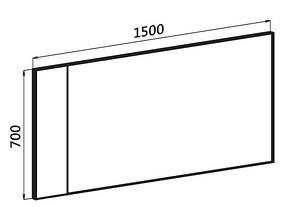 Зеркало (18 SM-09 A) и (18 SM-09 В) для спальни Модерн, фото 2