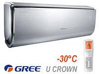 Настенный инверторный кондиционер Gree GWH12UB-K3DNA4F U-Crown Inverter -30C