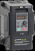 Преобразователь частоты CONTROL-L620 380В, 3Ф 1,5-2,2 kW IEK