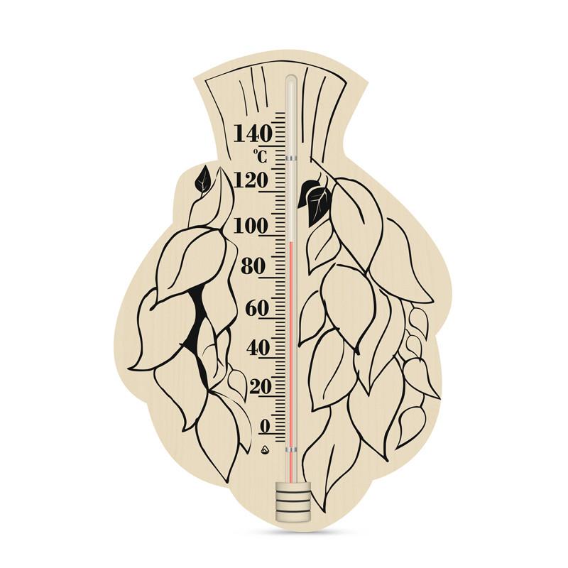 """Термометр  для сауны, бани ТС исп.6 """"Береза""""."""