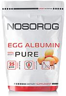 NOSOROG Egg Albumin 1 kg (яичный альбумин; яичный протеин; яичный белок; для похудения; для роста мышц)