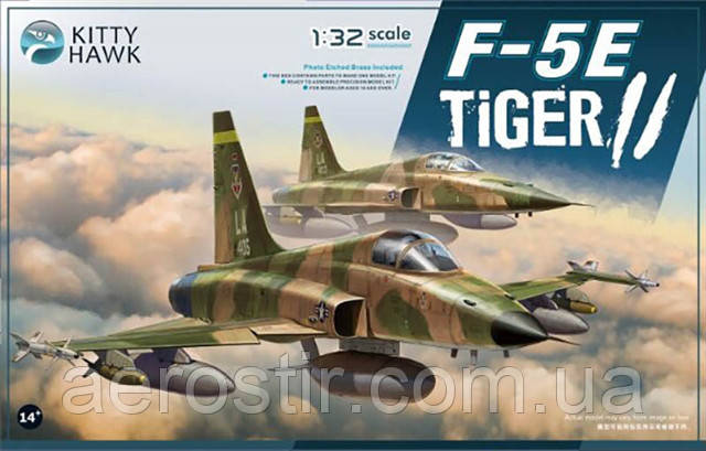 F-5E Tiger II 1/32 Kitty Hawk 32018