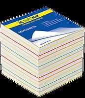 Блок бумаги для заметок 90х90х800л. Радуга ВМ.2249