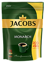 Кава розчинна Jacobs Monarch 250г пакет