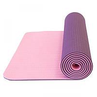 Коврик для йоги LiveUp TPE YOGA MAT