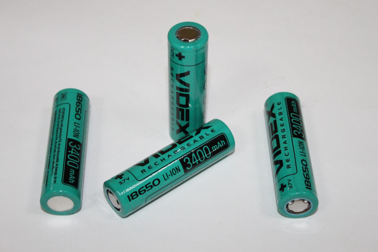 Аккумулятор Videx Li-Ion 18650 3400 mAh