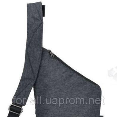 Фото плечевого ремня мужской сумки CrossBody