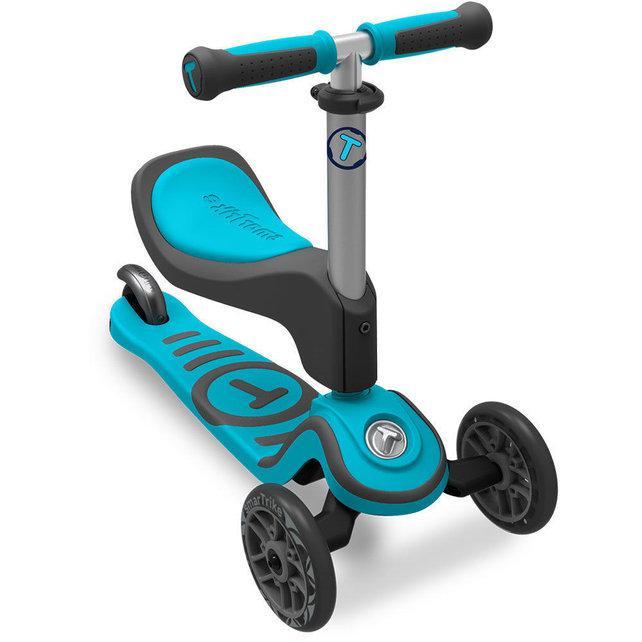 Самокат трехколесный Smart Trike Scooter T1 голубой STT1S2020100