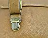 Стильный кожаный портфель Mulberry 8271 Camel, фото 7