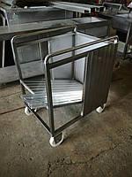 Тележка транспортировочная для коптильных палок (вешал) вместимостью  до 800 шт., фото 1