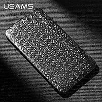 Внешний аккумулятор Power bank USAMS Mosaic 10000 mah Black, фото 10
