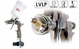 Краскопульт LVLP 1.3 мм Intertool PT-0130, фото 2